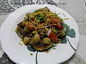 Fast-Food Ragda Patties