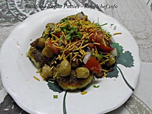 Fast-Food Ragda Patties