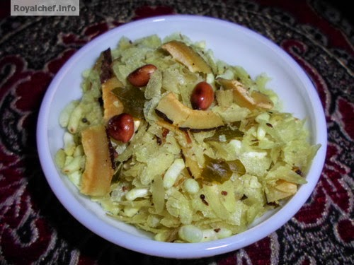 Tasty Patal POha Chivda for Diwali