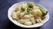 Macaroni with Cheese and Broccoli 2