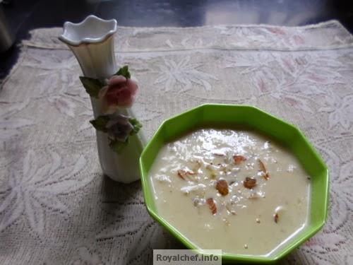 A Maharashtrian Sweet Dish for the festival of Gudi Padva