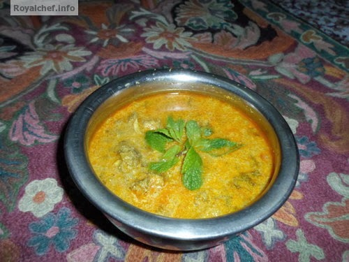 A delicious Indian Mint Chicken Gravy