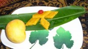 Recipe for Mango-Coconut Vadi 1