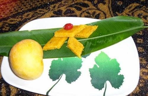 Recipe for Mango-Coconut Vadi 3