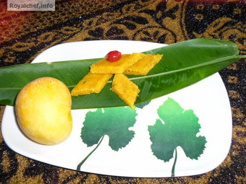 A Maharashrtian Diwali Faral Recipe for Mango-Coconut Vadi