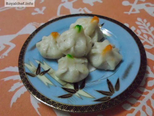 The famous Maharashtrian recipe Modak which is an offering to Ganesha,
