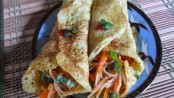 Recipe for Pan Cakes with Vegetables 1