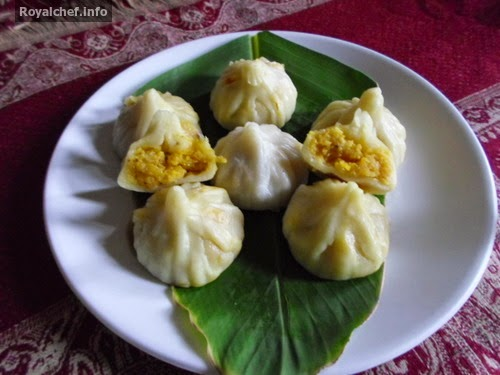 A Maharashtrian speciality recipe for Modak using Cocunut and Mango