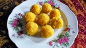 Recipe for Mango-Coconut Laddu 1