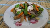 Recipe for Mushroom - Capsicum Salad 1