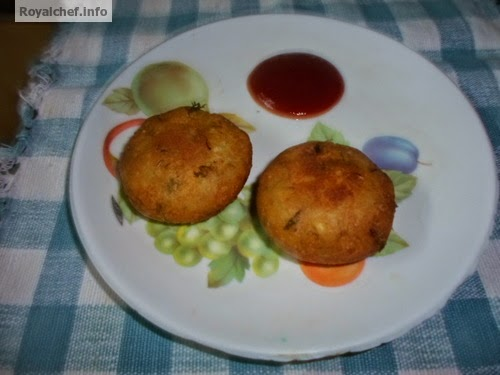 An Indian Kabab dish making the use of Yam and Potatoes