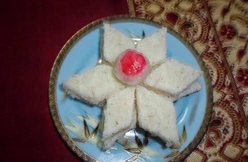 Recipe for Coconut Vadi - 2 3