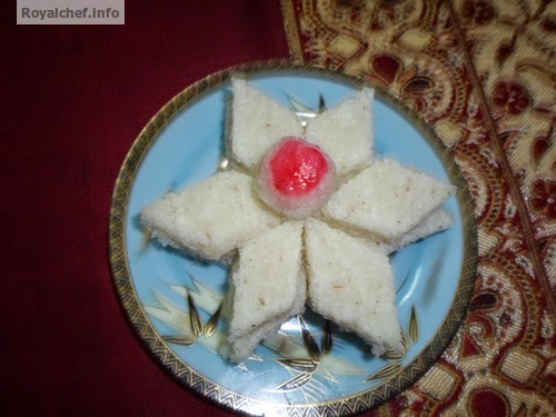 The famous Diwali Faral dish from Maharashtra CoconutVadi