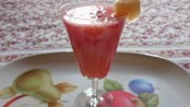 Recipe for Strawberry- Musk Melon Mocktail 1