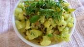 Maharashtrian style Cauliflower chi Bhaji 1