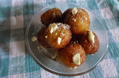 Recipe for Sweet Potato Gulab Jamun 2