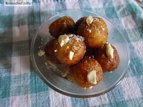 A delicious recipe for Sweet Potato Gulab Jamun