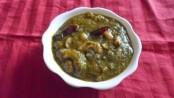 Recipe for (Colocasia) Alu chi Bhaji 1