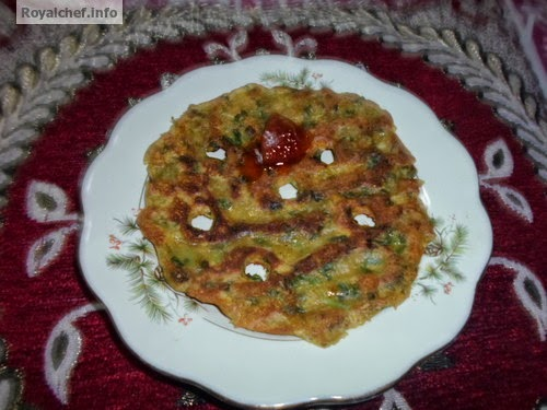 Thalipeeth having Fenugreek as the main ingredent