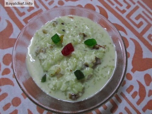 A Maharashtrian Gulkand Sweet Betel Leaf Kheer dish