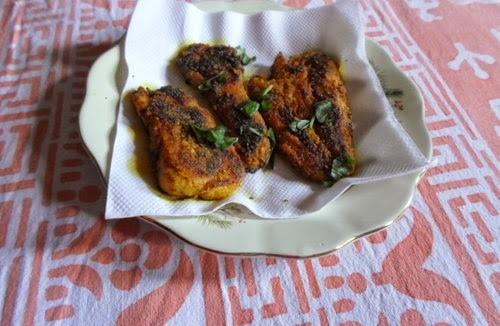 Maharashtrian Style Spicy Fried Arbi 5