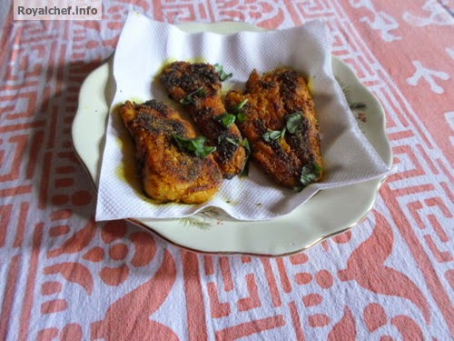 Maharashtrian style Spicy Fried Arbi