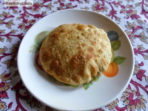A delicious Salted Puri dish for breakfast