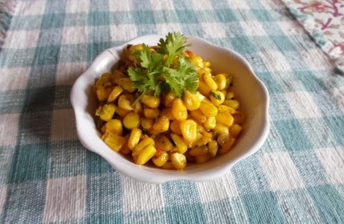 Recipe for Sweet Corn Niblets Usal 1