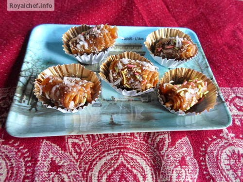 An Indian specility sweet made from Dates