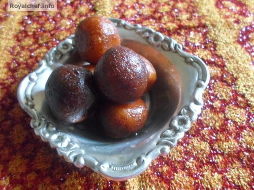 This recipe teaches you to prepare Kala Jamun at home