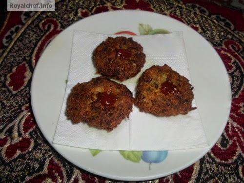 A crispy vegaterian Kabab prepared from Rajma