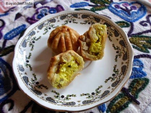Modak prepared using a Stuffing of Cheese and Corn