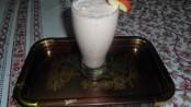 Apple- Strawberry Milk Shake 1