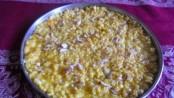 Homemade Mango Malai Barfi 1