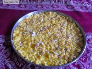 Homemade Bengali Mithai Mango Malai Barfi