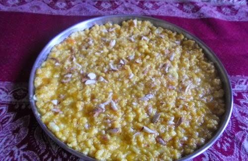 Homemade Mango Malai Barfi 2