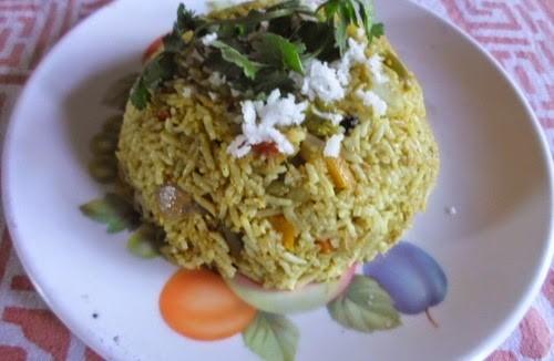 Maharashtrian style Masale Bhat 1