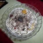 Christmas Chocolate Dessert Salad