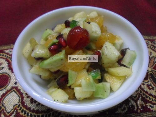 Mixed Fruit Chaat Salad