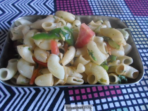 Macaroni Salad for Children