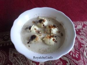 Chocolate variant of the Rasmalai