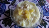 Pineapple Coconut Pudding - Marathi