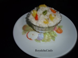 Thai Pineapple Rice - Marathi