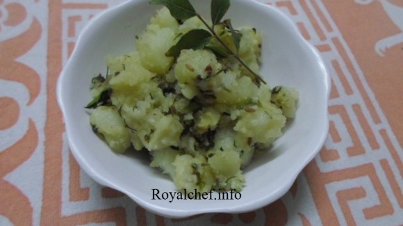 Maharashtrian Potato Fasting Bhaji