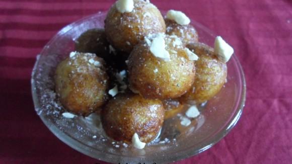 Sweet Potato Gulab Jamun for Fasting