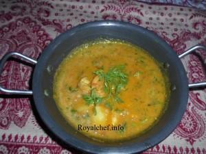 Konkani Prawn Gravy - Marathi