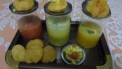 Fruit Varient of the Pani Puri
