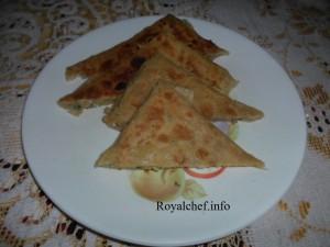 Spicy Mughlai Egg Paratha