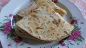 Fresh Ripe Mango Parathas