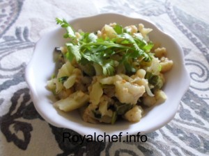Kashmiri Cauliflower Bhaji